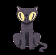 黒猫ダレカ