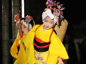 花童会少女舞踊団「Theわらべ」、子供舞踊団「こわらべ」