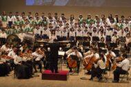 合唱と管弦楽のための交響詩集『時の川』